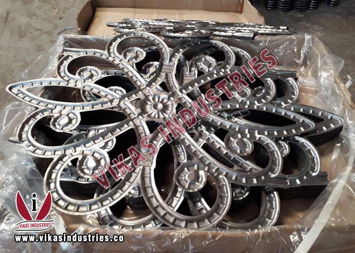 wrought iron hardware gate grill parts fencing and railing components manufacturers exporters in india punjab ludhiana