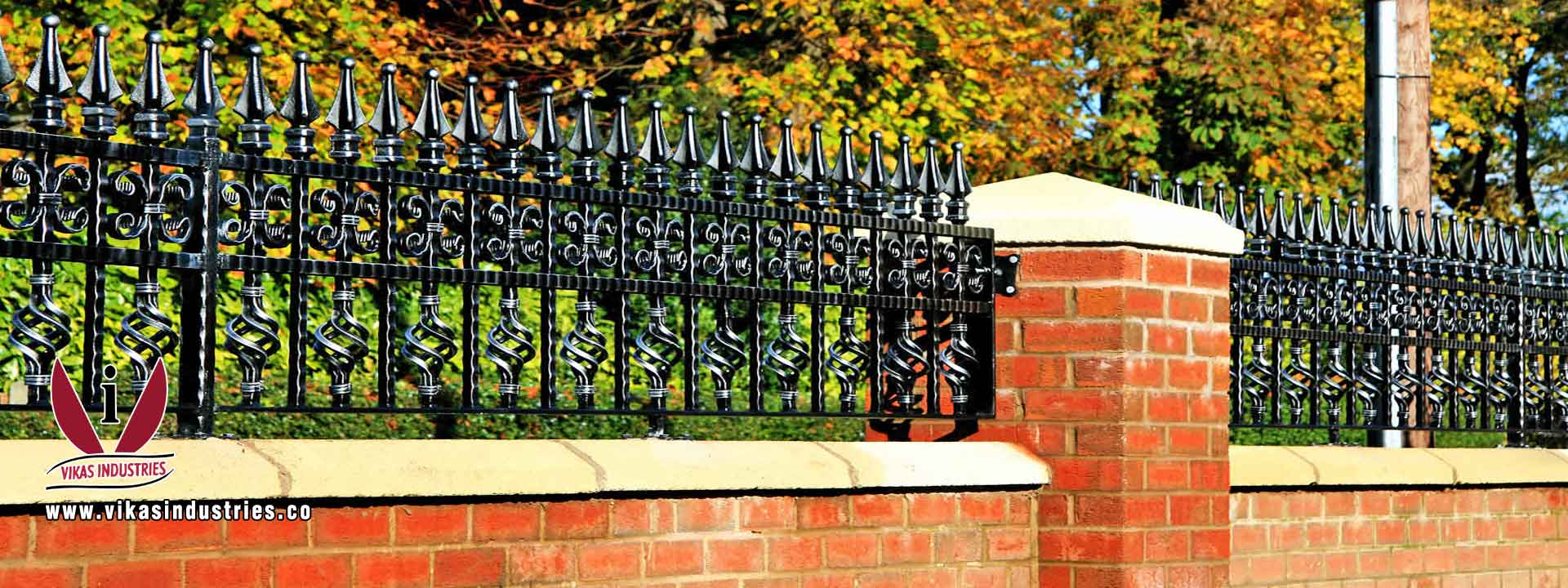 wrought iron hardware gate grill parts fencing parts railings hardware products ornamental iron hardware parts manufacturers exporters in india punjab ludhiana