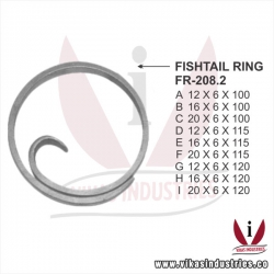 Wrought Iron Rings